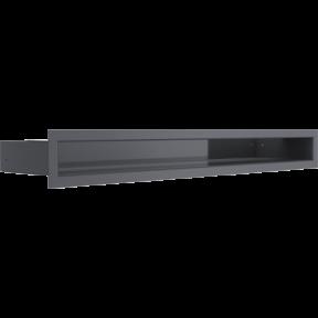 Решетка KRATKI люфт графитовая 6х60 см