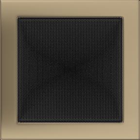 Решетка KRATKI золото гальваническое 22х22 см