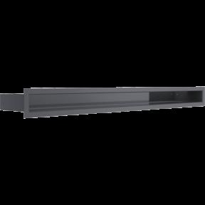 Решетка KRATKI люфт графитовая 6х80 см