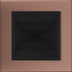 Решетка KRATKI медь гальваническая 17х17 см