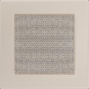 Решетка KRATKI бежевая (покрашенная) 17х17 см