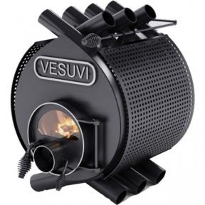 Печь булерьян Vesuvi 00 классик, стекло и защитный кожух