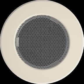 Решетка KRATKI круглая FI бежевая 150 мм