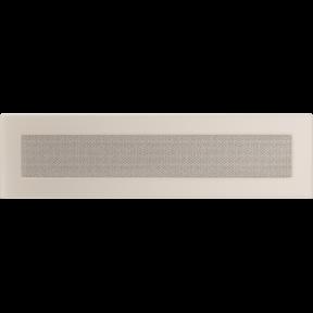 Решетка KRATKI бежевая (покрашенная) 11х42 см