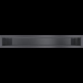 Решетка KRATKI люфт SF графитовый 90х600 мм