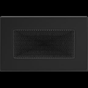 Решетка KRATKI чёрная (покрашенная) 11х17 см