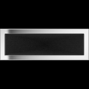 Решетка KRATKI никелированная 17х49 см