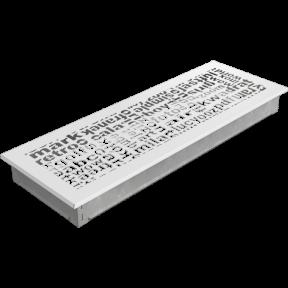 Решетка KRATKI ABC белая 17х49 см