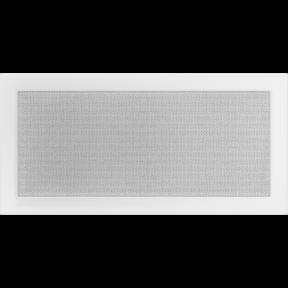 Решетка KRATKI белая (покрашенная) 22х45 см
