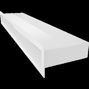 Решетка KRATKI люфт SF белый 60х600 мм