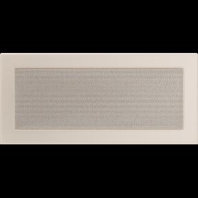 Решетка KRATKI бежевая (покрашенная) 17х37 см