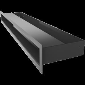 Решетка KRATKI люфт SF чёрный 60х600 мм