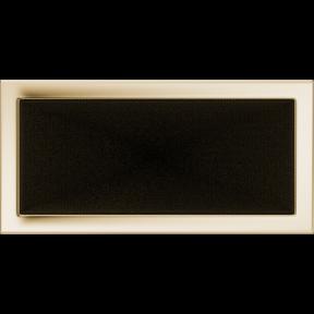 Решетка KRATKI позолоченная 22х45 см