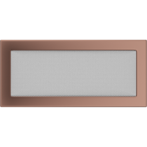 Решетка KRATKI медь гальваническая 17х37 см
