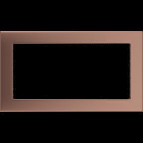 Решетка KRATKI медь гальваническая 17х30 см