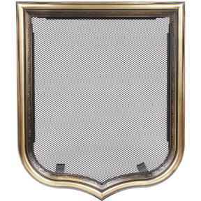 Решетка KRATKI герб 280х333 мм