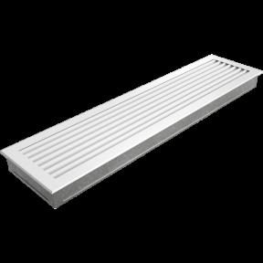 Решетка KRATKI FRESH белая 17х70 см
