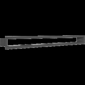 Решетка KRATKI туннель чёрная 6х80 см