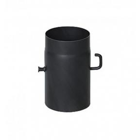 Шибер из низколегированной стали Darco L-0,25 м D-130 мм толщ. 2 мм