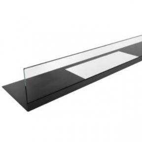 KRATKI стекло для биокамина JULIET 1500 (стекло и подставка)