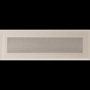 Решетка KRATKI Oskar бежевый (покрашенная) 11х32 см