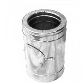 Ревизия дымоходная нерж/нерж Версия Люкс D-100/160 мм 1 мм