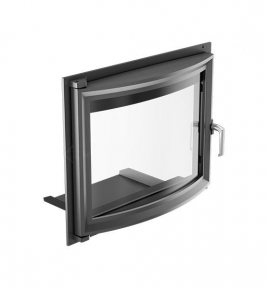 Дверца для камина KRATKI Oliwia/Wiktor 515х738 мм с панорамным стеклом