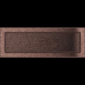 Решетка KRATKI медная (покрашенная) 17х49 см