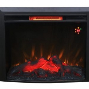 Электрический камин Bonfire EL1615B 28 дюймов с инфракрасным обогревом