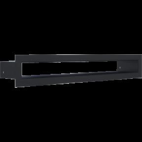 Решетка KRATKI туннель чёрная 6х40 см