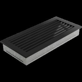 Решетка KRATKI FRESH чёрная 17х37 см