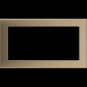 Решетка KRATKI золото гальваническое 17х30 см