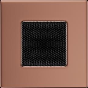 Решетка KRATKI медь гальваническая 11х11 см