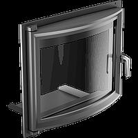 Дверца для камина KRATKI Amelia/Felix 607х750 мм с панорамным стеклом