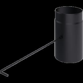 Шибер kratki D-150 мм. толщ. 2 мм.