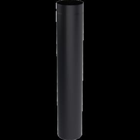 Труба kratki L-1 м, D-130 мм. толщ. 2 мм.