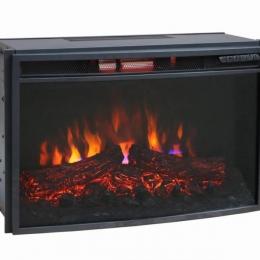 Электрический камин Bonfire EL1537B 26 дюймов с инфракрасным обогревом