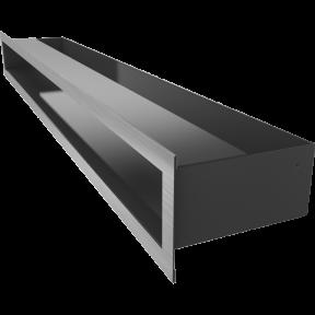 Решетка KRATKI люфт шлифованая 9х80 см