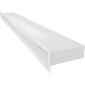 Решетка KRATKI люфт SF белый 60х1000 мм
