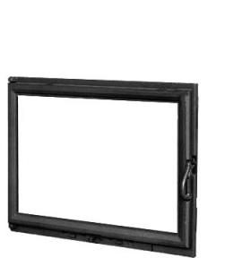 Дверца для камина KAW-MET W11