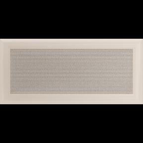 Решетка KRATKI Oskar бежевый (покрашенная) 17х37 см