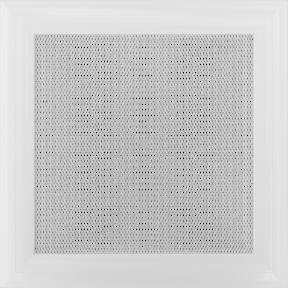 Решетка KRATKI Venus белый (покрашенная) 11х11 см