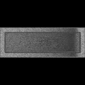 Решетка KRATKI чёрное серебро (покрашенная) 17х49 см