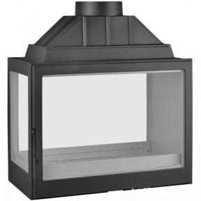 Каминная топка Liseo L7 туннель + левое боковое стекло