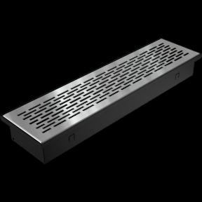 Решетка KRATKI половая Floor шлифованая 9х40 см