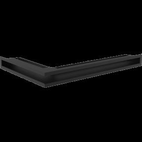 Решетка Kratki LUFT SF черная угловая правая 40*60*6