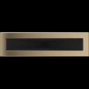 Решетка KRATKI золото гальваническое 11х42 см