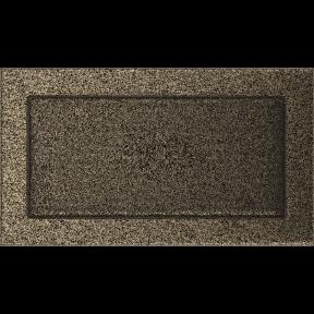 Решетка KRATKI чёрное золото (покрашенная) 17х30 см