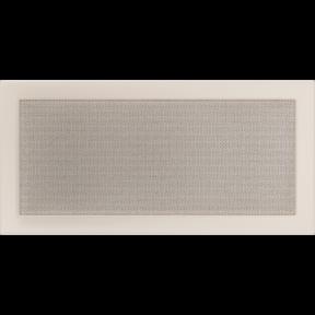 Решетка KRATKI бежевая (покрашенная) 22х45 см