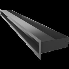 Решетка KRATKI люфт SF графитовый 60х1000 мм